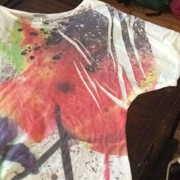 Color Splash / Bleached top